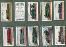 Cigarette cards Railway Engines 1924 set of 50